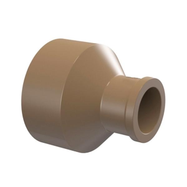 Bucha de Redução Longa Marrom PVC