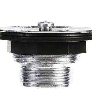 Válvula para Cozinha Plástico Cromado Curta